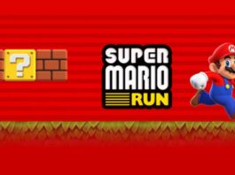 Super Mario Run on iOS