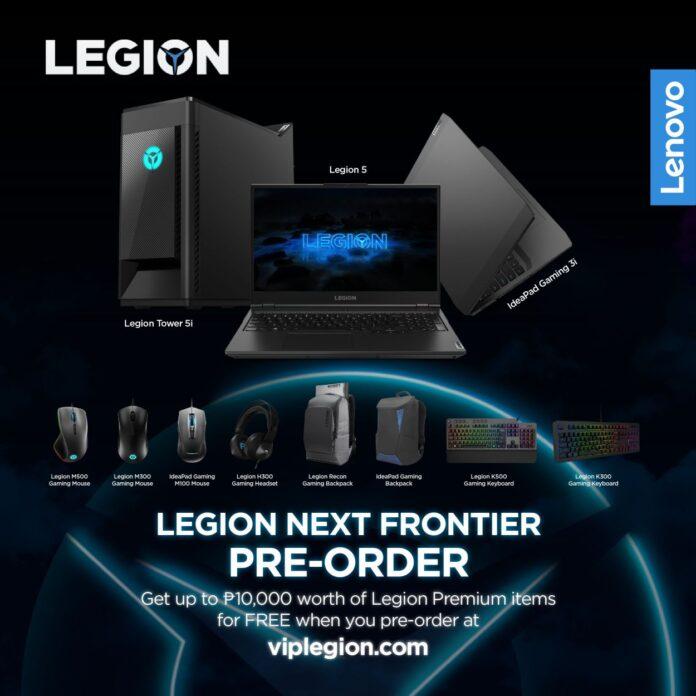 Legion x Pre-order All