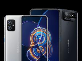 ASUS Zenfone 8 and Zenfone 8 Flip